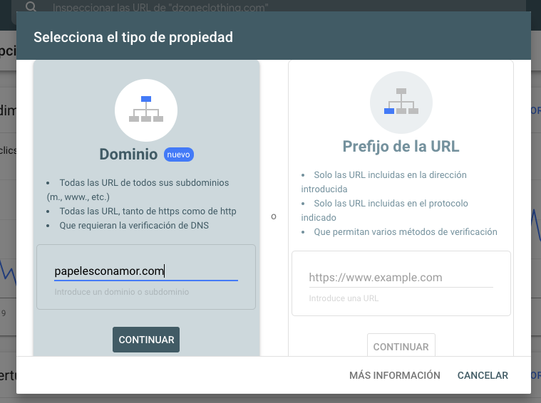 Como registrar un sitio Web en Google
